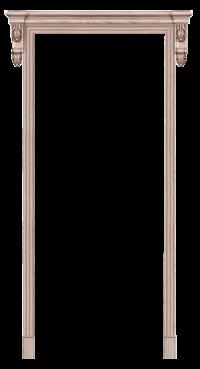 Колонна классик с резьбой